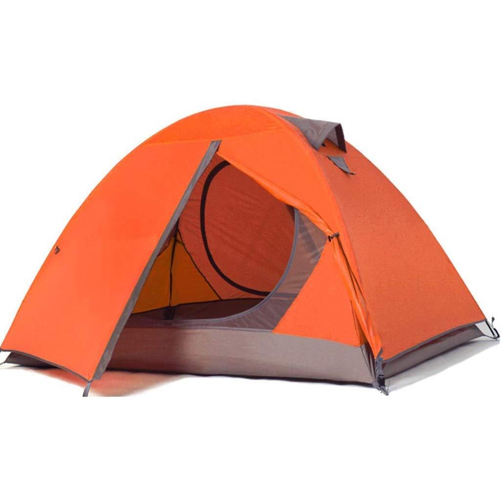 【希少!!】 二重防水テントキャンプビーチ屋外キャンプ2色 Orange (色 : (色 Orange) Orange : B07P3M8BJ6, ベクトル リポイント:24d16bb5 --- ciadaterra.com