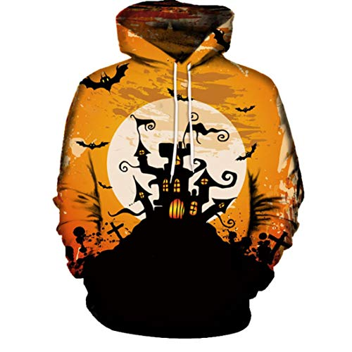 Fall Blouse,Morecome Women's Halloween Black Pumpkin Devil Sweatshirt Pullover Tops Blouse Shirt -