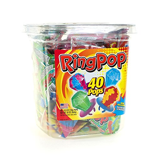 Product of Candy Ring Pops (40 ct.) - Hard Candy & Lollipops [Bulk Savings] -