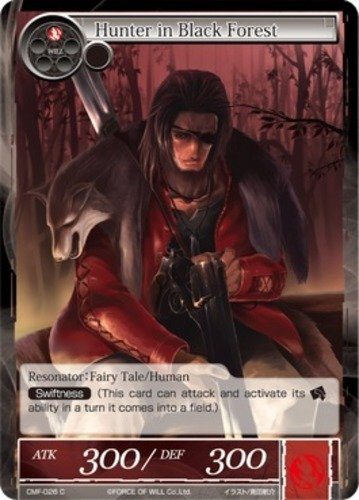 Force of Will Hunter in Black Forest CMF-026 C