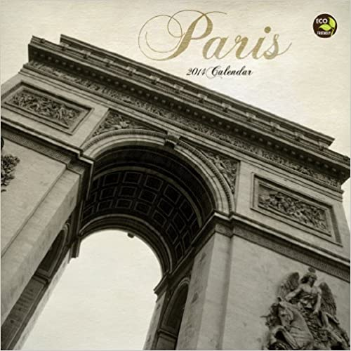 2014 Paris Mini Calendar