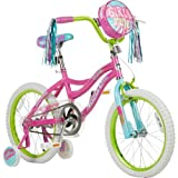 Girls' 18 in Girls Rule Bike with safety pad set