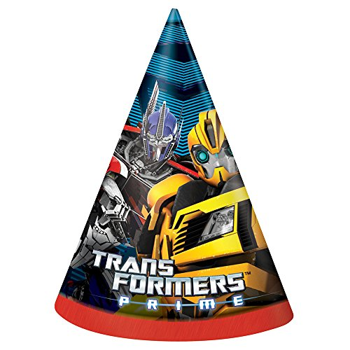 Transformers Party Hats, 8ct -