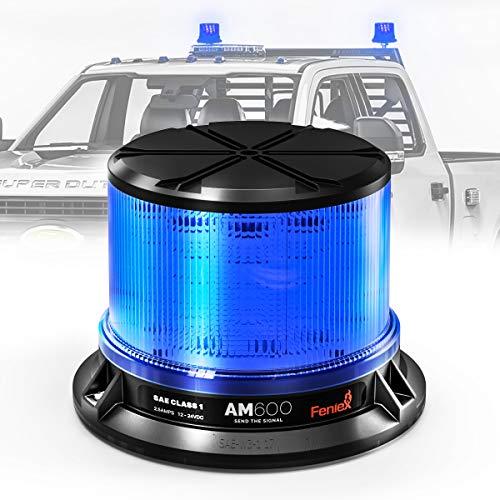 Feniex AM600 High-Intensity LED Beacon, SAE Class 1 (Blue)