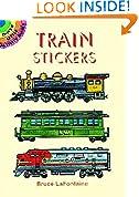 #6: Train Stickers (Dover Little Activity Books Stickers)