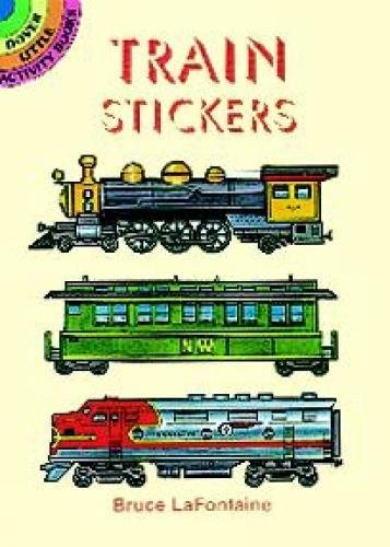 Train Stickers (Dover Little Activity Books Stickers) by Dover (Image #3)