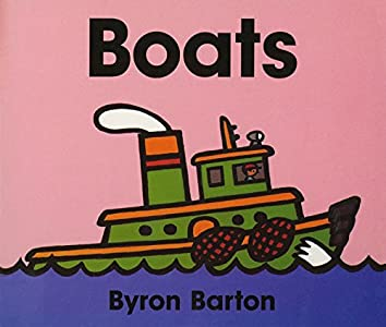 Boats Board Book