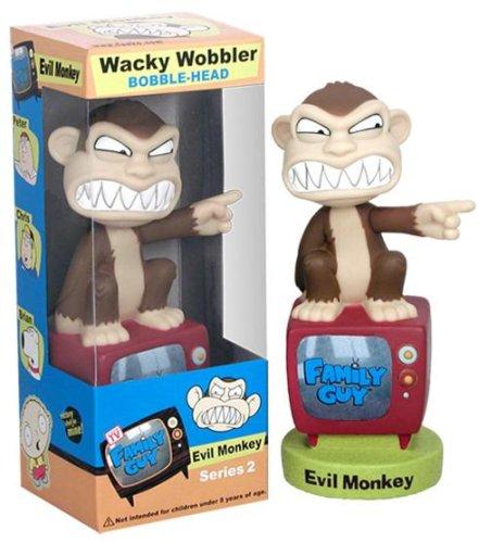 (The Evil Monkey from Family Guy Nodder by Funko Wacky Wobblers )