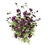 Admired by Nature GPB4403-GRAPE Artificial Full Blooming Daisy Flowers44; Grape