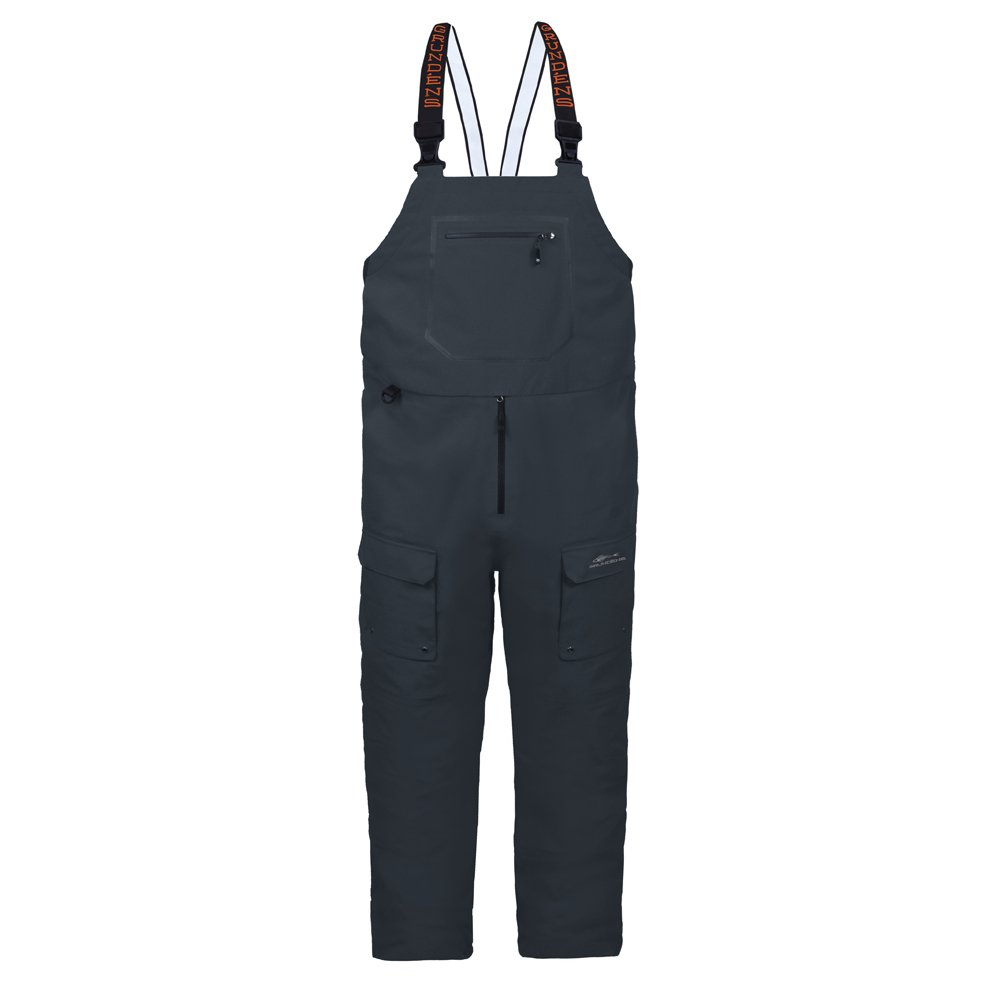 Grundens Men's Dark and Stormy Bib Pant, Dark Slate - XL