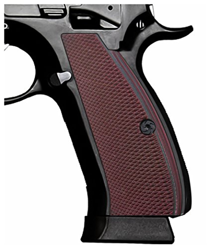 Cool Hand G10 Grips for CZ 75 Full Size, CZ 75 SP-01 Series, Shadow 2, 75B BD, Screws Included, SP1-PN-6