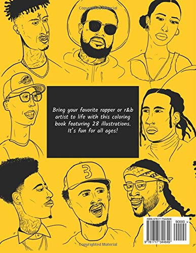 A Coloring Book of Rappers 2