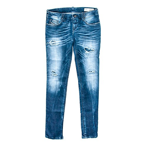 Diesel Girls' Gruppen J Jogg Jeans (12 Big Kids) by Diesel