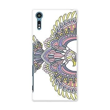 0bac34d750 スマコレ スマホケース オリジナルスマートフォンケース ハンドメイド 携帯ケース【print】SO-01J アジアン 鳥