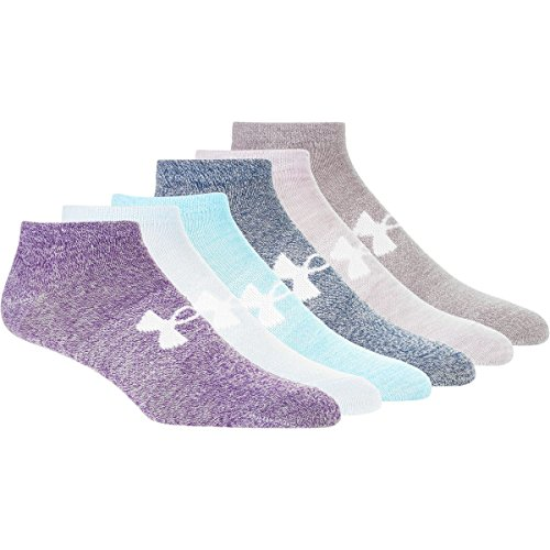 Under Armour Essential No Show Liner Socks 6 Pack Women's