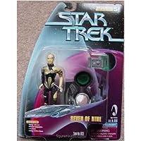 """5 """"Siete de nueve figuras de acción como se presenta en Star Trek: Voyager del episodio"""" The Gift """"- Warp Factor Series 5"""