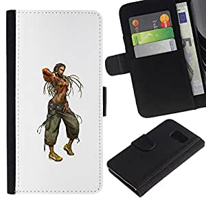 All Phone Most Case / Oferta Especial Cáscara Funda de cuero Monedero Cubierta de proteccion Caso / Wallet Case for Sony Xperia Z3 Compact // Rasta Woman