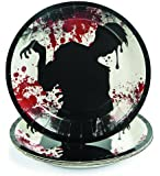 Fun Express - Zombie Bash Dessert Paper Plates (1-Pack of 8)