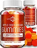 Apple Cider Vinegar Gummies (120 Pack) - Gummy Alternative to ACV Pills, Capsules, Tablets & Vitamins - Organic, Raw, Unfiltered with Mother for Weight Loss Supplements - Non GMO - Made in USA