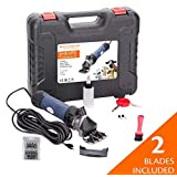 Pet & Livestock 380W Electric Sheep Shears, Hair Fur Grooming Clippers Goats, Alpaca, Llamas, Angora Rabbits Hand Piece Cutter Grooming Kit for Livestock, 2 Blades, CE