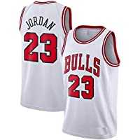 Basketball Chicago Bulls Michael Jordan White Jersey with Shorts