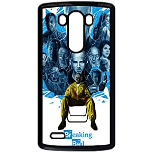 Breaking Bad LG G3 Black Phone Case Gift Holiday Gifts Souvenir Halloween gift Christmas Gifts TIGER154928