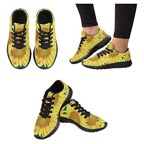 Interestprint Femmes Jogging Running Sneaker Léger Aller Facile Marche Confort Décontracté Sport Chaussures De Course Multi 9