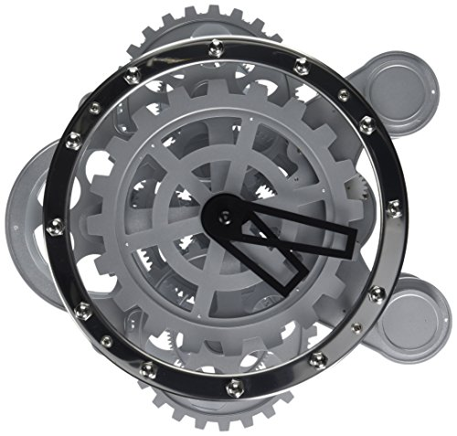 Kikkerland Gear Clock (Wall Working Gear Clock)