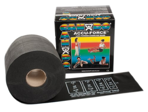 Cando Accu-Force Band - Low Powder - 50 yds -Heavy Black