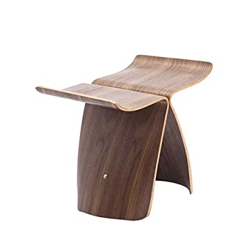 Magnificent Amazon Com Shoe Bench Creative Curved Wood Craft Small Andrewgaddart Wooden Chair Designs For Living Room Andrewgaddartcom