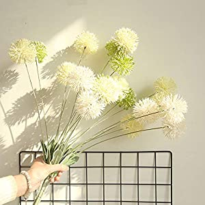 Anferstore Artificial Dandelion Flowers Floral Home Wedding Decoration Bouquet Hydrangea Decor, Ideal for Placing in a vase 71