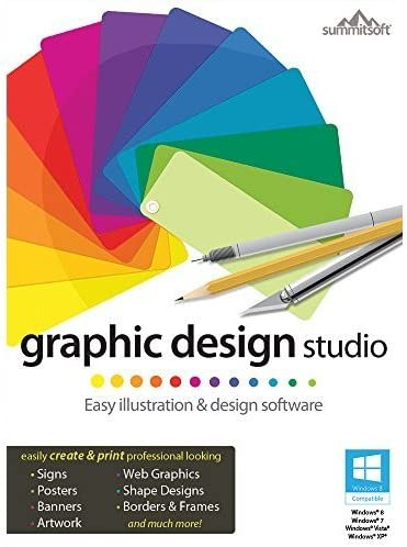 Amazon Com Graphic Design Studio Download Software