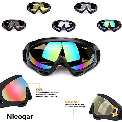 5738feafe08 Nieoqar Ski Goggles