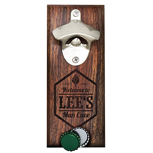 Personalized Bottle Opener Magnet Catcher product image