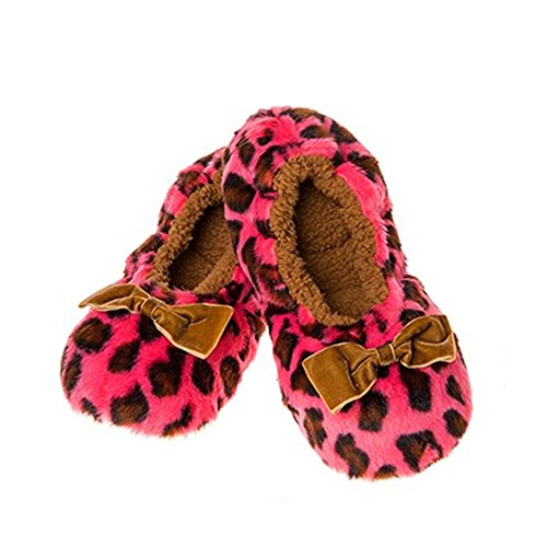 Snoozies , Chaussons pour femme Rose pink, white, brown