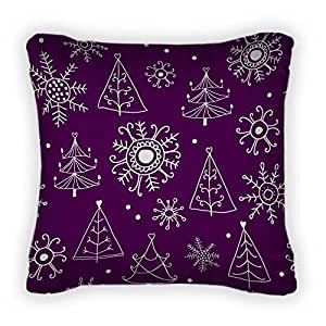 Gear New Christmas Pattern Throw Pillow With Removable Cover, Poplin, 26x26, GN8999