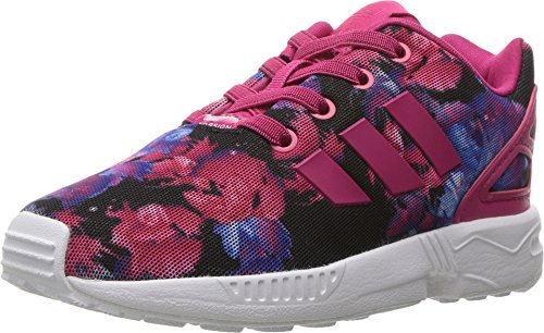 huge selection of 17834 93dc1 adidas Originals Kids Baby Girl's ZX Flux (Toddler) Bold - Import It All