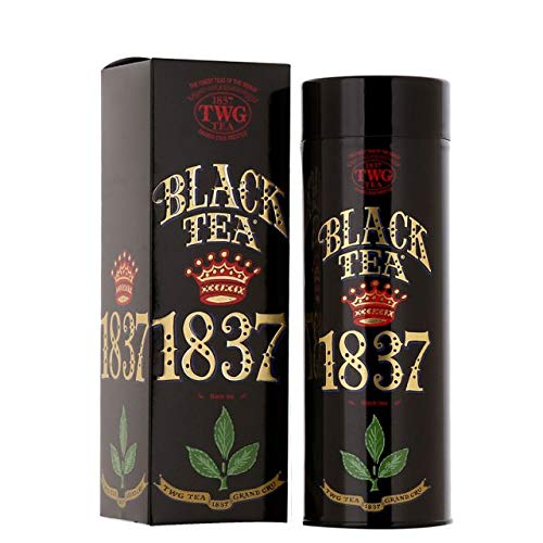 TWG Tea – 1837 Black Tea (TCTWG6033) – 3.52oz Loose Leaf TIN