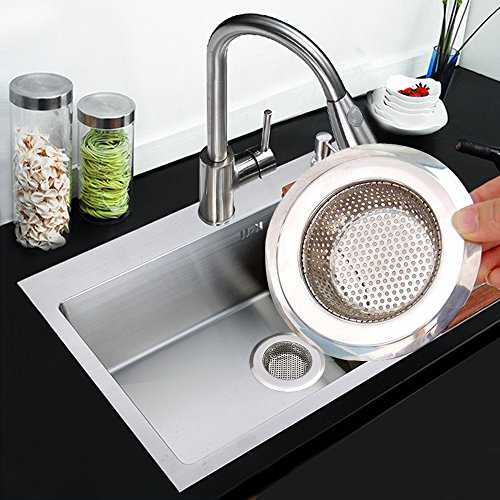 Usa free shipping stainless steel kitchen sink strainer by - Kitchen sink rim ...