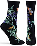 Ozone Women's Witches Garden Sock,Black,One Size