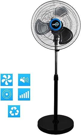 ZY Cold fan Soporte para Ventilador - Ventilador de Pedestal con 5 ...