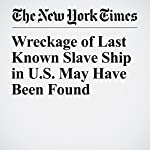 Wreckage of Last Known Slave Ship in U.S. May Have Been Found | Matthew Haag