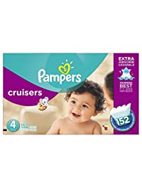 Pampers Cruisers Diapers Size 4 (22–37 lb), 152 Count BOBEBE Online Baby Store From New York to Miami and Los Angeles