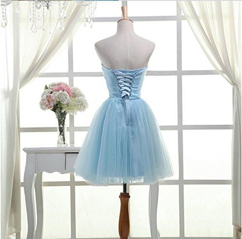 Kleid Blau Damen A Drasawee Linie qItaCw