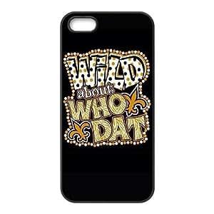 New Orleans Saints iPhone 4 4s Cell Phone Case Black persent zhm004_8480880