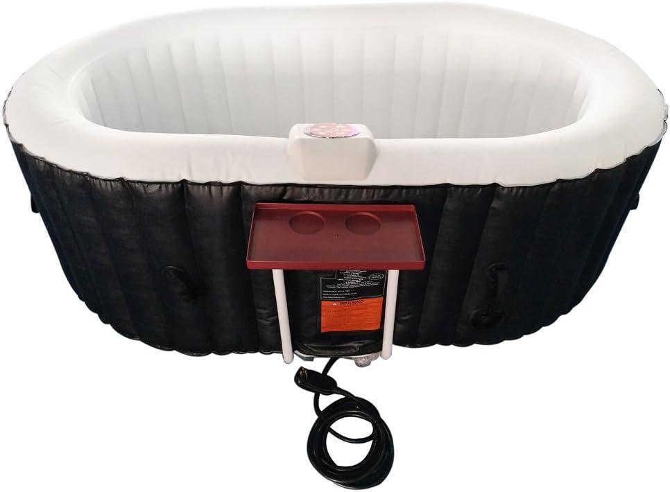 4. ALEKO Oval Inflatable Hot Tub Spa