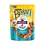 Purina Beggin' Strips Bacon & Peanut Butter Flavor Dog Treats – 6 Oz. Pouch For Sale
