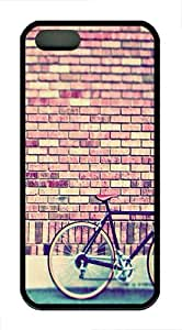 IMARTCASE iPhone 5S Case, Vintage Bike Durable Case Cover for Apple iPhone 5S/5 TPU Black