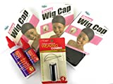 Hair Weaving Kit. Hair Extinsions Sewing Kit. Hair Glue. Wig Cap, Needles, Thread. Extensions Sewing and Glue in Tools.