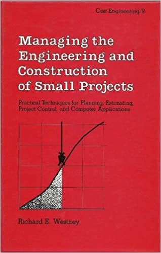 Amazon com: Managing the Engineering and Construction of Small